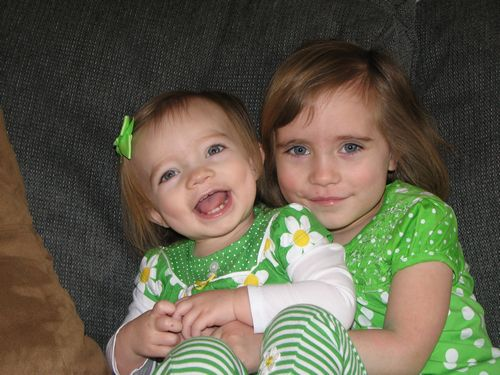 St. Patrick's Day Sisters
